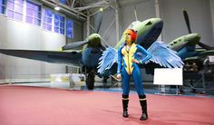 Looks like Rainbow Dash finally joined the Wonderbolts after all!