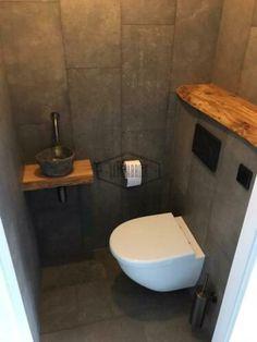 Bathroom Design Luxury, Bathroom Design Small, Modern Toilet Design, Small Toilet Design, Small Bathroom Storage, Laundry Room Storage, Stone House Plans, Small Toilet Room, Cute Diy Room Decor