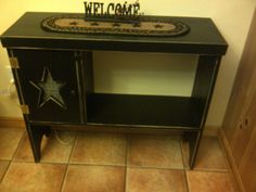 Primitive table with star  $120