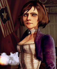 Elizabeth #bioshock Bioshock Game, Bioshock Series, Bioshock Elizabeth, Elizabeth Comstock, Infinite Game, Bioshock Infinite, Female Characters, Cosplay Costumes, Variables