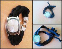 Cómo cambiar la correa de un reloj con trapillo