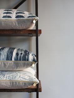 AA Eg /_ Vintage Baumwolle Leinen Kissenbezug Sofa Taille Kissen Hülle Heim Deko