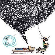 El saber que pensamiento escoger para empezar a desenredar.