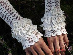 Ivory Edwardian Cuffs