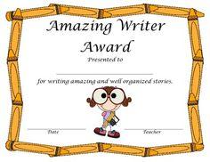 School ideas on Pinterest  Award Certificates Spelling