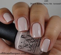 Opi brazil collection spring summer 2014 of life and lacquer fall nail colors for dark skin Fall Nail Colors, Nail Polish Colors, Opi Nail Polish Names, Opi Colors, Pink Polish, Summer Colors, Cute Nails, Pretty Nails, Milky Nails
