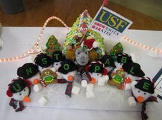 USF's #gingerbread festival entry from last year