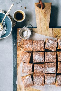 Gingerbread Snack Cake