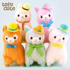 Buy Authentic Amuse Alpacasso Alpaca Hatter Plush Keychain at Tofu Cute