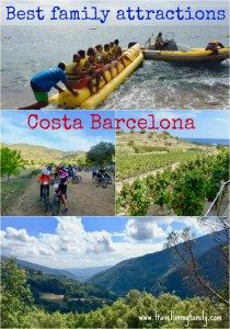 This article provides inspiration of places to visit in Costa Barcelona with kids including guided hikes through the incredible Montsent Natural Park, watersports in Calella and a family friendly vineyard which makes learning about wine production fun for ALL ages!