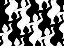 Resultado de imagen para tessellation black and white