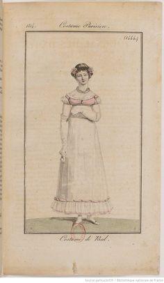 Costume du Bal, 1814
