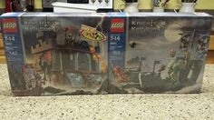 Lego 8801 and 8802 Toys R US Exclusive Knights Kingdom SEALED New 65767 | eBay