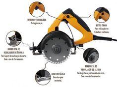 Serra Mármore Wap ESM1400 - 1400W com as melhores condições você encontra no Magazine Lightsaint. Confira!