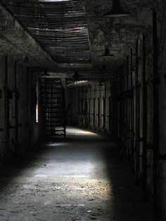 Eastern state penitentiary is one of the coolest palaces I've been to. Very spooky.