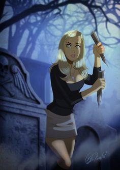 Buffy the Vampire Slayer by Des Taylor Saga, Comic Art, Comic Books, Buffy Summers, Firefly Serenity, Sarah Michelle Gellar, Joss Whedon, Female Stars, Buffy The Vampire Slayer