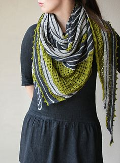 New spring favorite from Melanie Berg! Say hello to Tamdou shawl! It uses Cumbria Fingering
