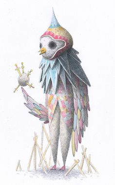 owl clown
