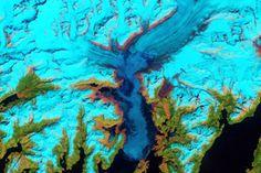 World of Change: Columbia Glacier, Alaska :  : Feature Articles : NASA Earth Observatory