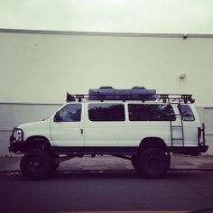 Badass 4x4 van! My ultimate adventure truck!  Perfect for me and my bestie to see it all!