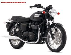 I love the classic look of this Triumph Bonneville!