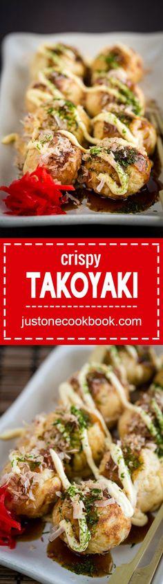 Takoyaki (たこ焼き) | Easy Japanese Recipes at JustOneCookbook.com