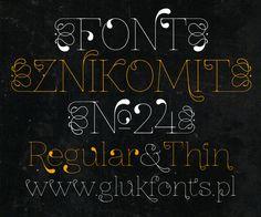 ZnikomitNo24 font by gluk - FontSpace