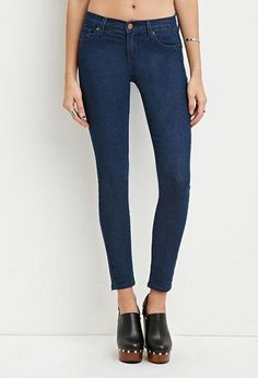 Low-Rise Skinny Jeans - Osh! - 1