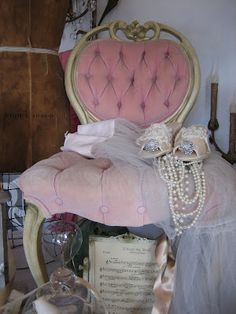 Vintage French Chair