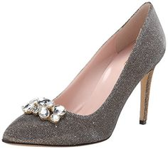 kate spade new york Women's Nellis Dress Pump, Bronze, 10 M US ** More info could be found at the image url.