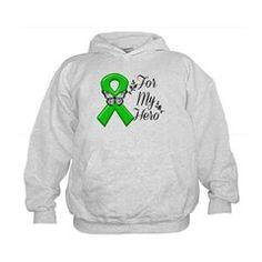 Kidney Cancer For My Hero Kids Hoodie #cancerawareness #formyhero