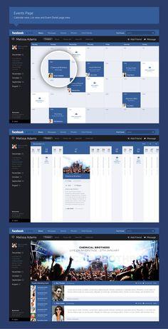 Lo último de Facebook: El nuevo diseño del calendario de eventos ¿Qué tal?