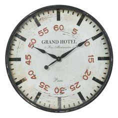 Chrono black clock