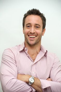 Alex O'Loughlin. i could never get tired of staring at this beautiful creature. never.