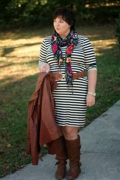 Hems for Her Trendy Plus Size Fashion for Women: Head of the Class