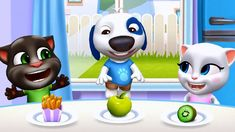 My Talking Tom Friends (by Gameplay Walkthrough - Part 1 iOS Fun To Be One, Have Fun, My Talking Tom, Funny Songs, Virtual Pet, Moving In Together, Animal Games, Mini Games, Nursery Rhymes