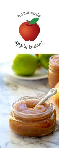 Like magic your slow cooker or Instant Pot will turn a bounty of apples into a smooth, deeply colorful and flavorful spread with this recipe for crock pot apple butter. #slowcooker #crockpot #applebutter #instantpot #abakershouse #apples #autumn #harvest #fruit #recipe Apple Recipes For Canning, Jam Recipes, Cooking Recipes, Homemade Apple Butter, Homemade Food, Butter Crock, Butter Recipe, Fruit Jam, Apple Fruit