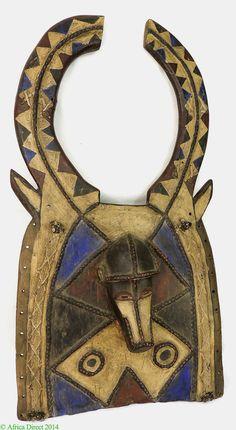 Plank Mask-Loniake Antelope Mask Tusyan(Toussian) African - African Masks