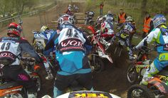 Jane Daniels captures the mayhem at The Tough One Hard Enduro race at Hawkstone Park in the UK. Helmet Front Mount was used to capture this angle: http://shop.gopro.com/mounts/helmet-front-mount/AHFMT-001.html#/start=1