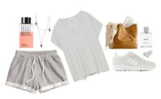 """""""Untitled #1879"""" by katerina-rampota ❤ liked on Polyvore featuring H&M, Zara, adidas, philosophy, Tina Lilienthal, Imm Living and Make"""