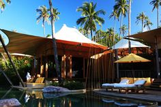 The stunning Six Senses Soneva Kiri Resort in Thailand | http://www.designrulz.com/outdoor-design/garden/2012/04/the-stunning-six-senses-soneva-kiri-resort-in-thailand/