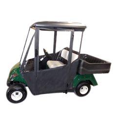 #DoorWorks #Enclosure #WorkGolfCart Golf Cart Enclosures, Golf Carts