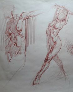 Figure drawing focusing on tones and shadows, Amirhossein Yaghoobi on ArtStation at https://www.artstation.com/artwork/4KEl4