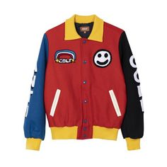 All your favorite TikTokers are wearing these fashion brands. Custom Varsity Jackets, Leather Varsity Jackets, Golf Hoodie, Mens Golf Fashion, Varsity Jacket Outfit, Teen Girl Shoes, Character Outfits, Fashion Brands, Cool Outfits