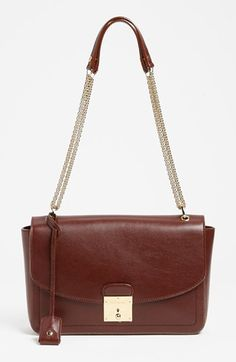 MARC JACOBS '1984 Polly' Leather Shoulder Bag available at #Nordstrom