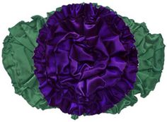 how to    Luscious ruffles of French wire taffeta ribbon are used both for the rose and the leaf