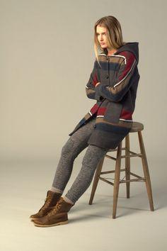Lifetime Collective / Women's Collection / Jackets / STRIPED CASPER COAT (Women's Leggings)