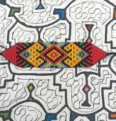 OOAK Into Divine Remembrance Indigenous Beaded por BountifulGaia