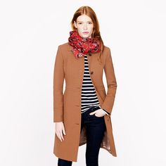 J.Crew - Double-cloth lady day coat with Thinsulate® (wish I could!)