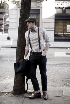 More click [.] Modern Suspenders Mens Fashion Ideas Shirt Mens Suspenders With Jeans How To Wear Outfits Style Looks Next Luxury How To Wear Suspenders With Jeans For Men 30 Male Fashion Styles 50 Fashion, European Fashion, Mens Fashion, Fashion Outfits, Fashion Styles, Style Fashion, Fashion Ideas, Fashion Trends, How To Wear Suspenders